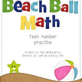 Summer Math Activities: Teen Numbers Practice