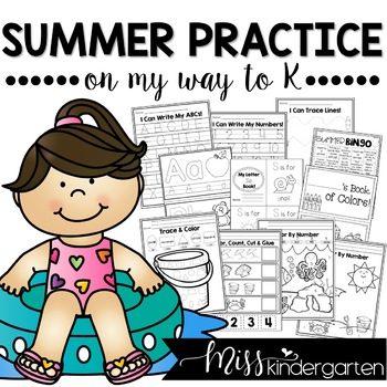 Kindergarten Readiness Summer Packet | PreK and Preschool Review
