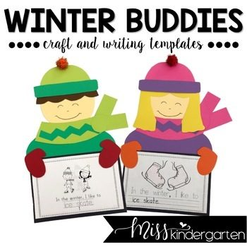 Winter Craft and Writing Templates