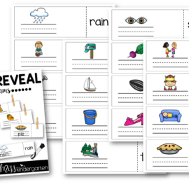 Word Work Vowel Teams Write and Reveal