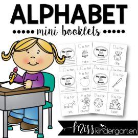 Alphabet Practice Letter Books