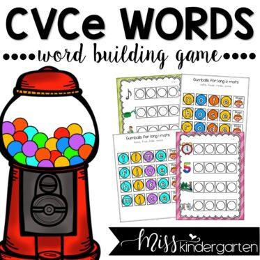 Magic e CVCe Words Game