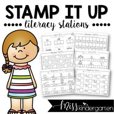 Kindergarten Worksheets