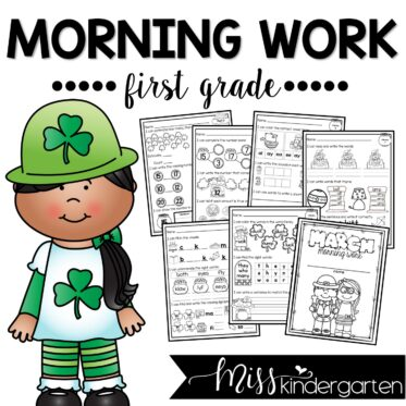 March Morning Work First Grade