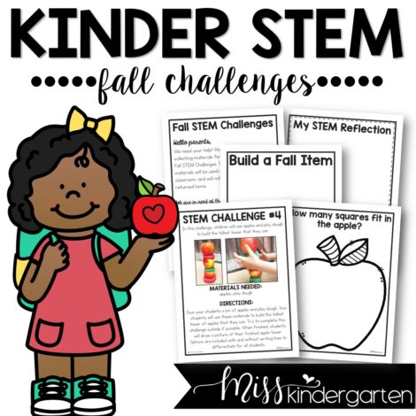 Kindergarten STEM activities that are perfect for the fall