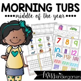 Morning Tubs for the Middle of the Year