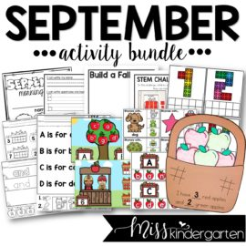 September Activity Bundle