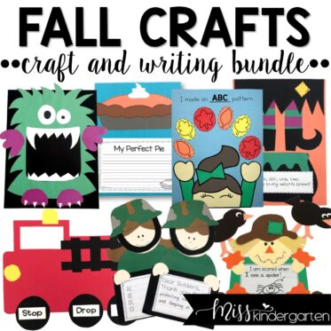 Increase engagement in your classroom by pairing academic skills with crafts. These fall crafts for kindergarten will have your lesson plans filled for months.