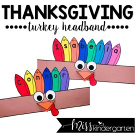 Turkey Headband Craft