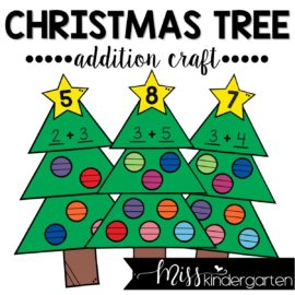 Christmas Tree Addition Craft