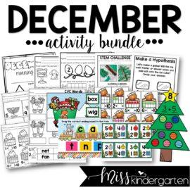December Activity Bundle