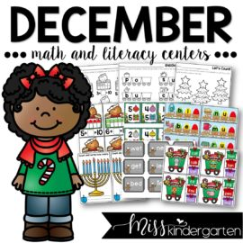 December Centers and Printables