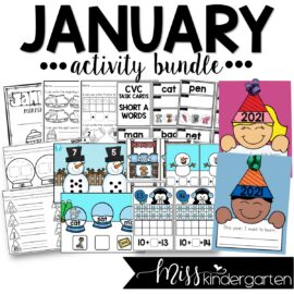 January Activity Bundle