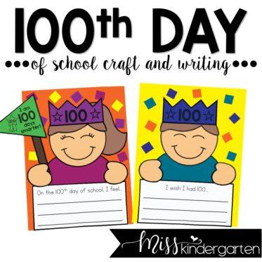 100th Day of School Craft