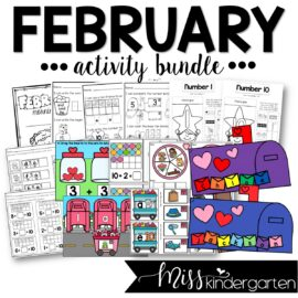 February Activity Bundle