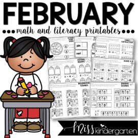 February Print and Go Printables