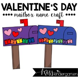 Valentine's Day Mailbox Craft
