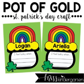 Pot of Gold Craft for St. Patrick's Day