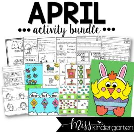 April Activity Bundle