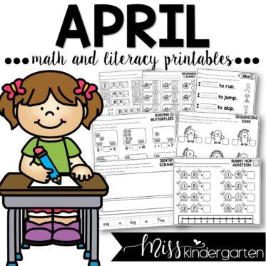 April Print and Go Printables
