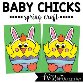 Baby Chick Spring Craft