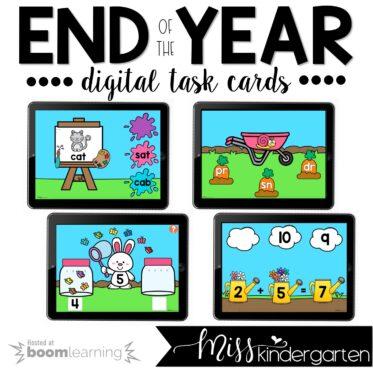 May Boom Cards™ For Kindergarten