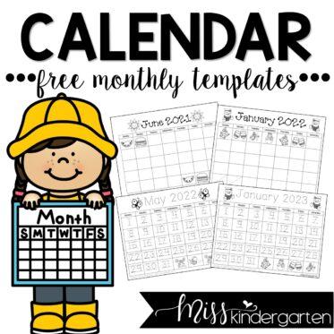Free Calendar Templates 2021, 2022, and 2023