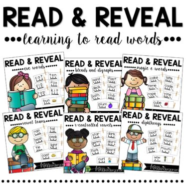 Read and Reveal Reading Words Intervention Bundle