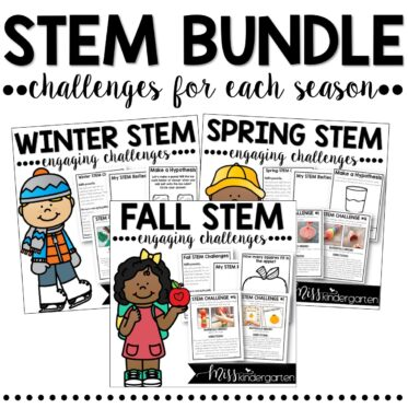 STEM Challenges and Activities | Full Year BUNDLE