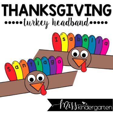 Turkey Headband Craft
