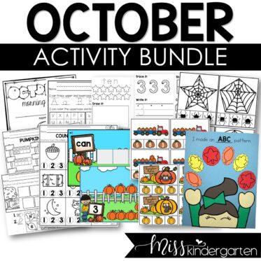 October Activity Bundle