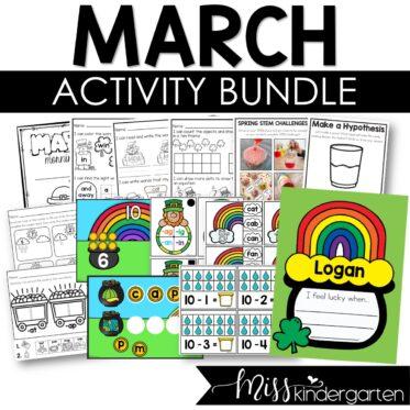 March Activity Bundle