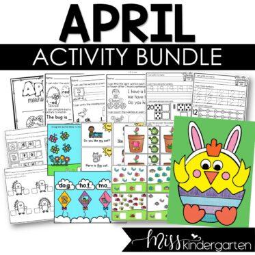 April Activity Bundle
