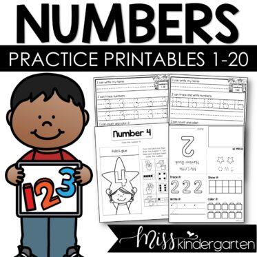 Writing Numbers 1-20 Worksheets | Number Books Number Printables Teen Numbers