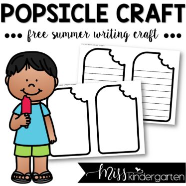 Summer Popsicle Craft – FREE Download